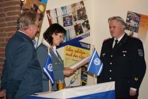THW Eckernförde: Dank und Anerkennung für die Feuerwehr