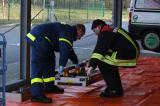 Dekon-Einsatz nach Feuer im THW Ortsverband Itzehoe